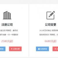 财务代帐网站开发